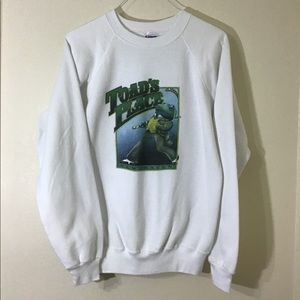 Vintage 1980s Men's Toad's Place Crewneck Sweater
